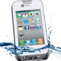 Amazon.com: iContact Waterproof Case Designed for iPhone 4 and 4S - IPX7 Certified with Intelli-filter Design Touch screen - Retail Packaging complete with user friendly IC-W105 User Guide. (WHITE): Cell Phones & Accessories