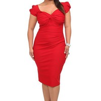 Stop Staring! - Red Billion Dollar Baby Dress | Shop All Fashion
