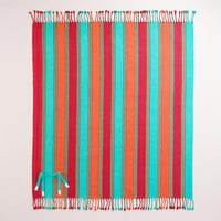 Wide Stripe Picnic Blanket | World Market