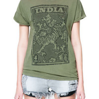 WASHED PRINTED T - SHIRT - T - shirts - TRF | ZARA United States
