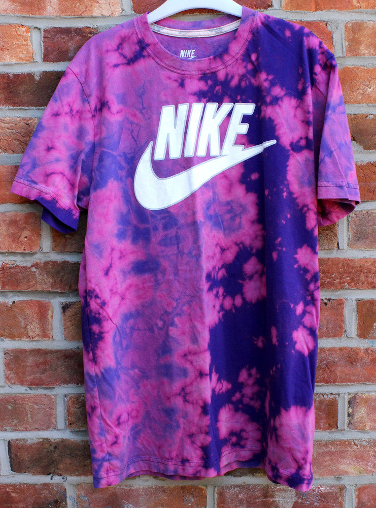 Cryptic cult candy tie dye nike t shirt from for Nike tie dye shirt and shorts