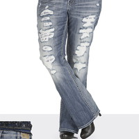 Silver Jeans Co. ® Tuesday Medium Wash Destructed Jeans