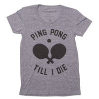 MNKR: Ping Pong Tee Women's, at 26% off!