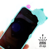 Apple iPhone4 4S Case Cover Silicone Jelly Cute Cat Mobile Phone Case Mint Apple iPhone4 4S Case Cover Silicone Jelly Cute Cat Mobile Phone Case Mint - eBay (item 170825008980 end time Apr-17-12 20:36:19 PDT)