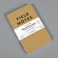 field notes - memo books mixed 3 pack