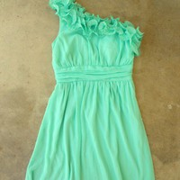 Lovely Mint Julep Dress [2295] - $42.00 : Vintage Inspired Clothing & Affordable Summer Frocks, deloom | Modern. Vintage. Crafted.