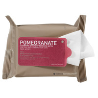 Sephora: Korres : Pomegranate Cleansing & Make Up Removing Wipes For Oily And Combination Skin : makeup-remover-face-makeup