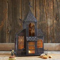 Haunted House Candleholder - Candles &amp; Candle Holders - Decor &amp; Accessories - Tabletop &amp; Serving - Sur La Table