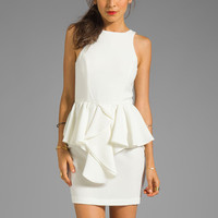Talulah The Jasper Crystal Dress in Off-White from REVOLVEclothing.com