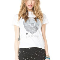 Brandy ♥ Melville |  Chloe Paisley Bear Top - Clothing