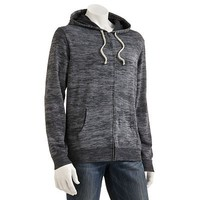 SONOMA life + style Burnout Striped French Terry Hoodie