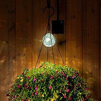 Solar Light for Hanging Baskets @ Harriet Carter