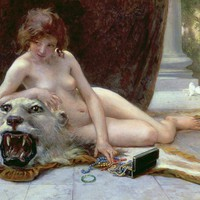 The Jewel Case Painting by Guillaume Seignac - The Jewel Case Fine Art Prints and Posters for Sale