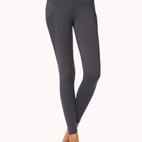 Mesh Pocket Skinny Workout Leggings