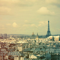 Pale Paris Art Print by Alicia Bock