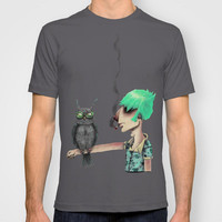 Punk N' A Bird T-shirt by Ben Geiger