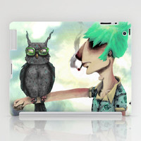 Punk N' A Bird iPad Case by Ben Geiger