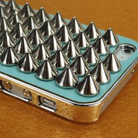 Full Metal Spikes Case for iPhone 5
