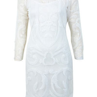 DESIGNED BY Applique Shift Dress - View All  - Dress Shop