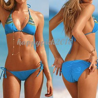 Women Bikini Triangle Swimwear Swimming Bathing Suit