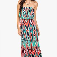 Indie Tribal Maxi Dress