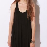 Sparkle & Fade Knit Oversized Tank Dress