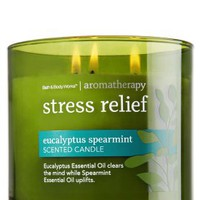 Eucalyptus Spearmint 14.5 oz. 3-Wick Candle   - Aromatherapy - Bath & Body Works