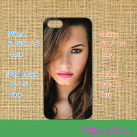 Demi Lovato - iPhone 4 case , iphone 5 case , ipod touch case, samsung galaxy S3 / S4 case, samsung note 2 case, Blackberry Q10 / Z10
