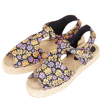 HAHA Peep Espadrille Sandals - Sale - Sale & Offers - Topshop USA