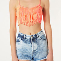 Fringe Bralet - Jersey Tops - Clothing - Topshop USA