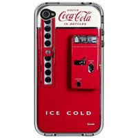 Coca Cola Vintage Machine Handmade iPhone 4 4S Full Plastic Case