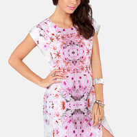 Ladakh Floral Mirage Print Dress