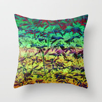 HEDGING YOUR BETS Throw Pillow by catspaws