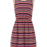 Multi Stripe Tank Dress