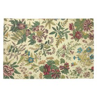 Old Fashioned Floral Abundance Hand Towel from Zazzle.com