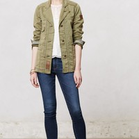Elsie Army Jacket