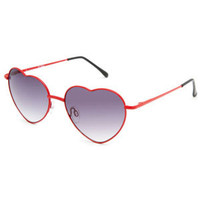 FULL TILT Luv Heart Sunglasses 221470300 | Sunglasses | Tillys.com