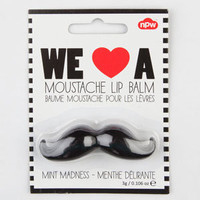 We Love A Mustache Lip Balm Black One Size For Women 20903410001