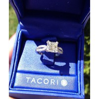 Have You Seen the Ring?: 2.01ct G vs1 Princess In TACORI