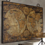Maps Wall Plaque?-?Neiman Marcus