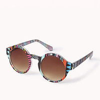 F5466 Dutch Wax Round Sunglasses