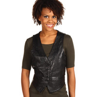 Scully Ladies Lambskin Leather Vest