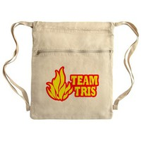 Team Tris Dauntless Cinch Sack on CafePress.com