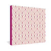 DENY Designs Home Accessories | Gabi Lanterns Berry Gallery Wrapped Canvas