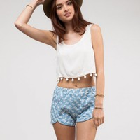 Canterbury Crop Top
