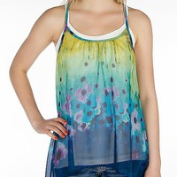 Lily White Chiffon Tank Top - Women's Shirts/Tops | Buckle
