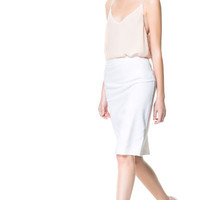 SHEATH SKIRT - Woman - New this week | ZARA United Kingdom