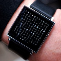 QLOCKTWO W Watch by Biegert & Funk:Amazon:Home & Kitchen