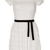 Valentino R.E.D. - Puff Sleeve Lace Dress