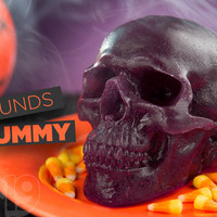 World's Largest Gummy Skull: A 5-pound edible candy cranium
